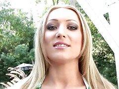 Anilos Diana Doll poses in the warm california sun