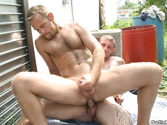 Hot neighborhood gay fucking