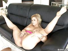 Innocent chick Sarah Vandella is here to do amazing blowjob