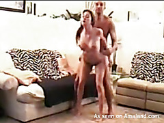 This horny dude is punishing this sexy babeТs holes wildly