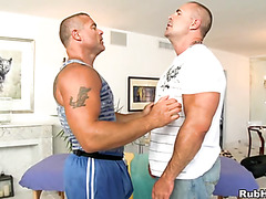 Unfathomable anal thrashing with cute gay chap and hunk