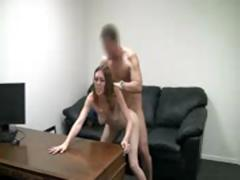 Cute Girl First Time Casting