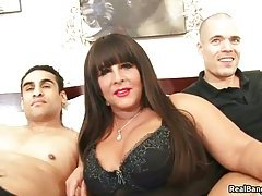 Melons hoe pounded by two dudes