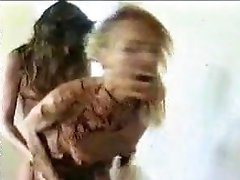 Mistress Rough Fucks Blonde With strapon