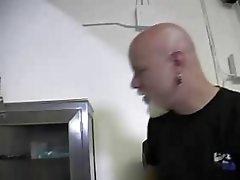 Tranny fucker eats a titty victim