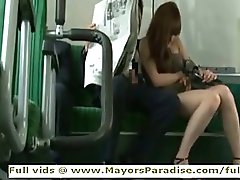 Rio from idol69 asian girl is fucked on the bus