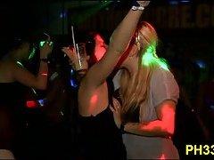 Guys & drunk sluts have party