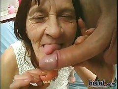 This grandma pleases a guy