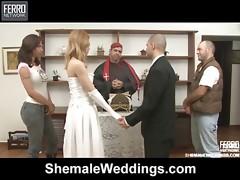 alessandra&tony shemale wedding sex