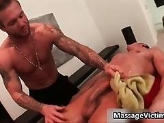 Gavin Waters gets amazing rod massaged